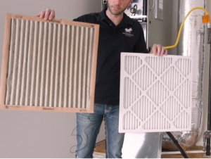 dirty vs clean furnace filter